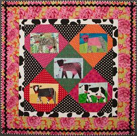 Cathie Hoover Studios : cow quilt pattern - Adamdwight.com